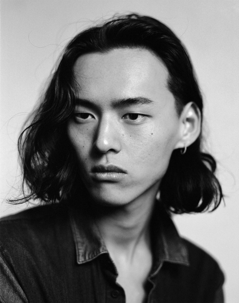 david yang in black and white portrait