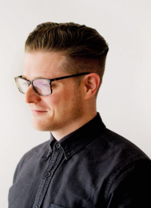 Portrait of male in shirt