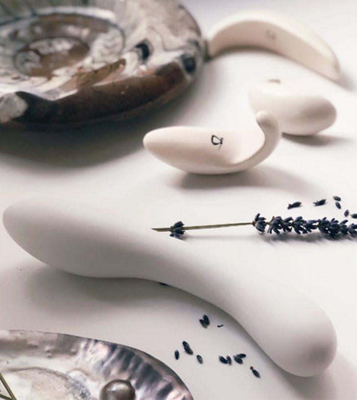 dalia handmade ceramic g spot massager