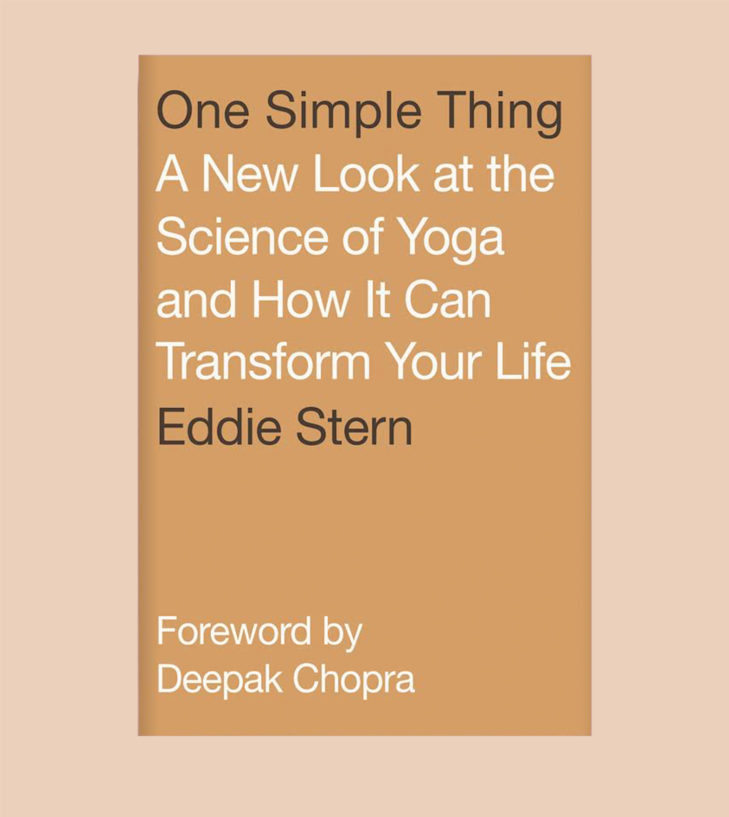 one simple thing yoga book cover