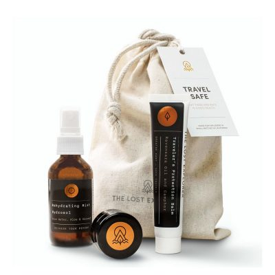 travel safe wellness kit from the lost explorer