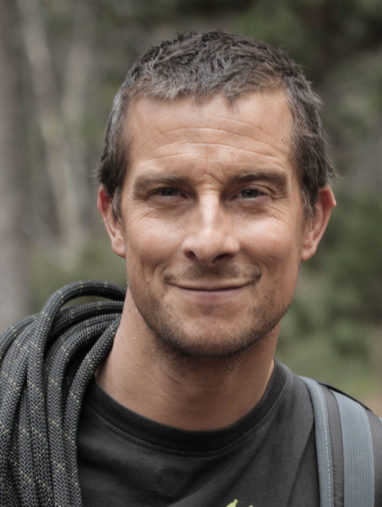 Bear Grylls smiling